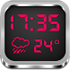 Night Clock Weather Widget by Super Widgets