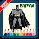 Coloring for Kids Superhero Batman