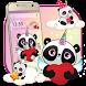 Cuteness Unicorn Panda Theme by HD Theme launcher Creator