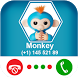 Calling Monkey Fingerlings by Coloring and Call Apps