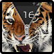 Zipper Lock Screen Tiger by Technology expertise