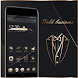 Gold Black Neat Theme by Cool Theme Love