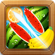 Fruit Cut Crush by decorea io game