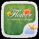 Flower GO Weather Widget Theme by GO Dev Team X