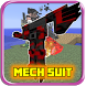 Mech Suit Addon for MCPE 0.16 by Gluta Guide Gaming