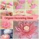 Origami Decorating Ideas