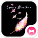 icon&wallpaper-Space Feather- by [+]HOME by Ateam