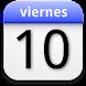 eCalendar widget by Iván Melenchón Serrano