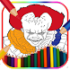 How To Color Pennywise & (pennywise wallpaper) by lifestyles0414