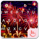 Happy New Year 2018 Keyboard Theme by Fashion Cute Emoji