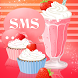 Muffin Shake Theme GO SMS Pro by Workshop Theme