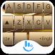 Luxury Gold Keyboard Theme by Fashion Cute Emoji