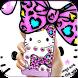Cute Kitty Face Bowknot Cartoon Theme by New Design Themes 2018