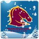 Brisbane Broncos Snow Globe by Premier Icons Pty Ltd
