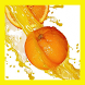 Orange juice live wallpapers by PanSoft