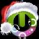 Santa on the way free theme by lockscreen.mobi