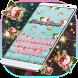 Vintage Flower Keyboard Theme by Redraw Keyboard