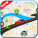 Driving Route Direction Map: Live Earth Tracking by appsclub