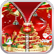 Christmas Zipper Lock Screen by Apps Hunt