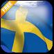 3D Sweden Flag Live Wallpaper by App4Joy