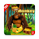 Monkey jungle running Banana by Anna devloper