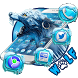 Ice Wolf Launcher Theme