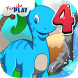 Dino 4th Grade Learning Games by Family Play ltd