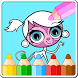 Coloring Book Little Pet Shop by Coloring Book for Kids Studio