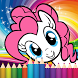 Coloring little pony princess by Dine chomsky