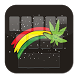 GO Keyboard Reggae Weed Theme by Keypad Emoji Keyboard Theme Design