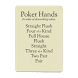 Poker Hands by Finely Tuned Machines