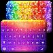 Glowing Glitter Keyboard Theme