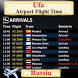 Ufa Bashkortostan Airport Flight Time by AsoftTech Solutions
