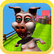 Crazy Pig Run Escape Wolf 3D