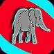 Elephant Eats Peanuts by Largo Media