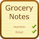 Grocery Notes (with Dictation) by Tidda Games