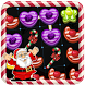 Santa Link Candy by tricia hassy