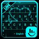 Live Neon Heart Keyboard Theme