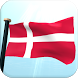 Denmark Flag 3D Live Wallpaper by I Like My Country - Flag