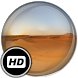 Panorama Wallpaper: Desert by Color Mamba