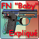 "Pistolet FN ""Baby"" expliqué by Gerard Henrotin - HLebooks.com"