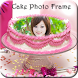 Birthday Cake Photo Frame by Photo Editor Zone