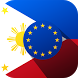 Euro - Philippine Peso EUR PHP by DeadSimpleApps / D.G.