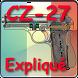 Pistolet CZ-27 expliqué by Gerard Henrotin - HLebooks.com