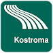 Kostroma Map offline by iniCall.com