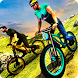 Off road bicycle riding 3d