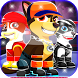 paw puppy Alien patrol by pets and cats Team
