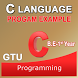 C LANGUAGE EXAMPLE FOR GTU by ALIEN SOFTWARE