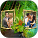 Natural Dual Photo Frame by Digital Photo AppZone