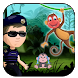 Police vs Jungle Monkey free run adventures